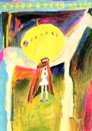 荒井良二個展「きょうのぼくはどこまでだってはしれるよ」