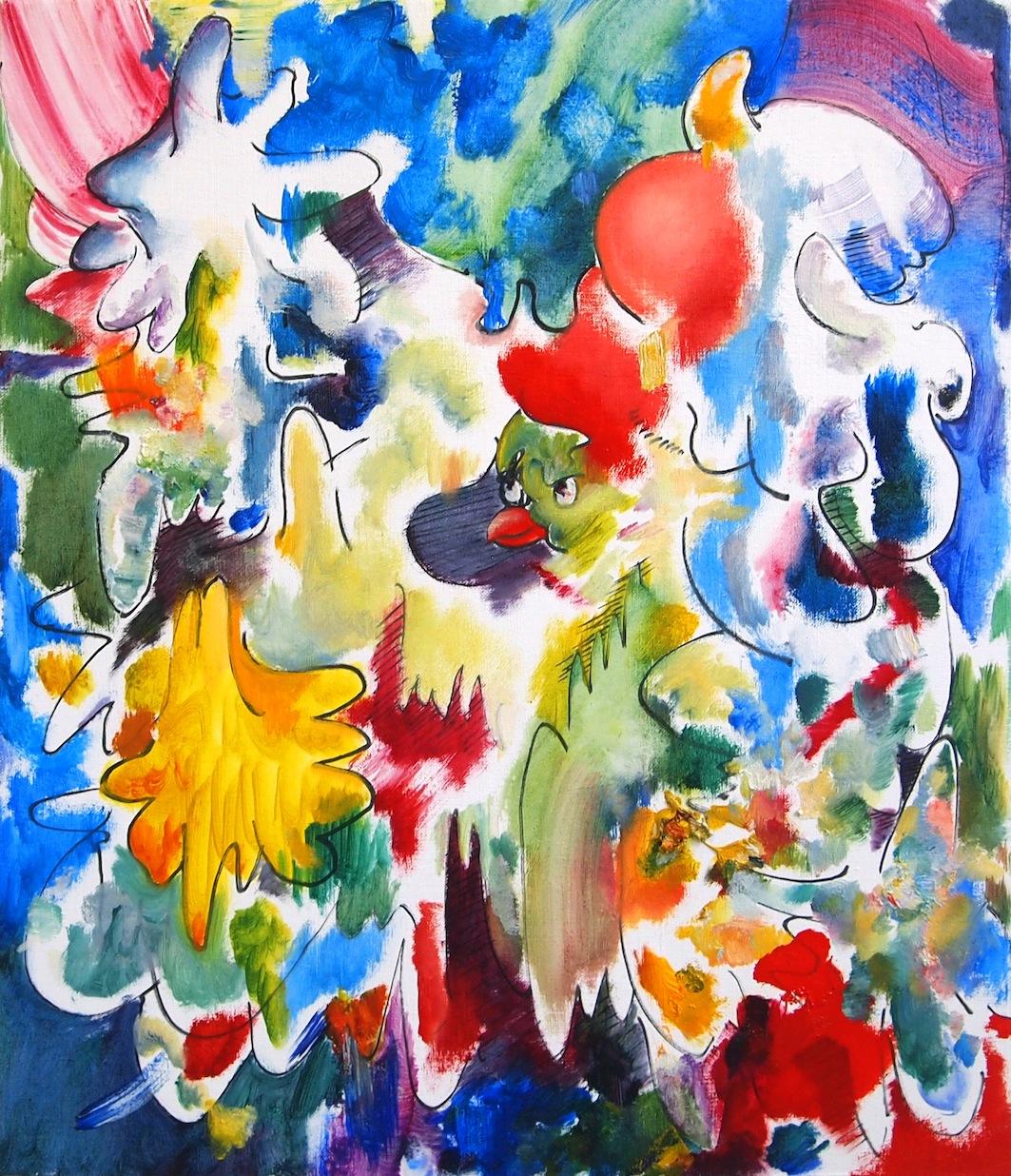 樽井英樹 個展『Flapping Colors』