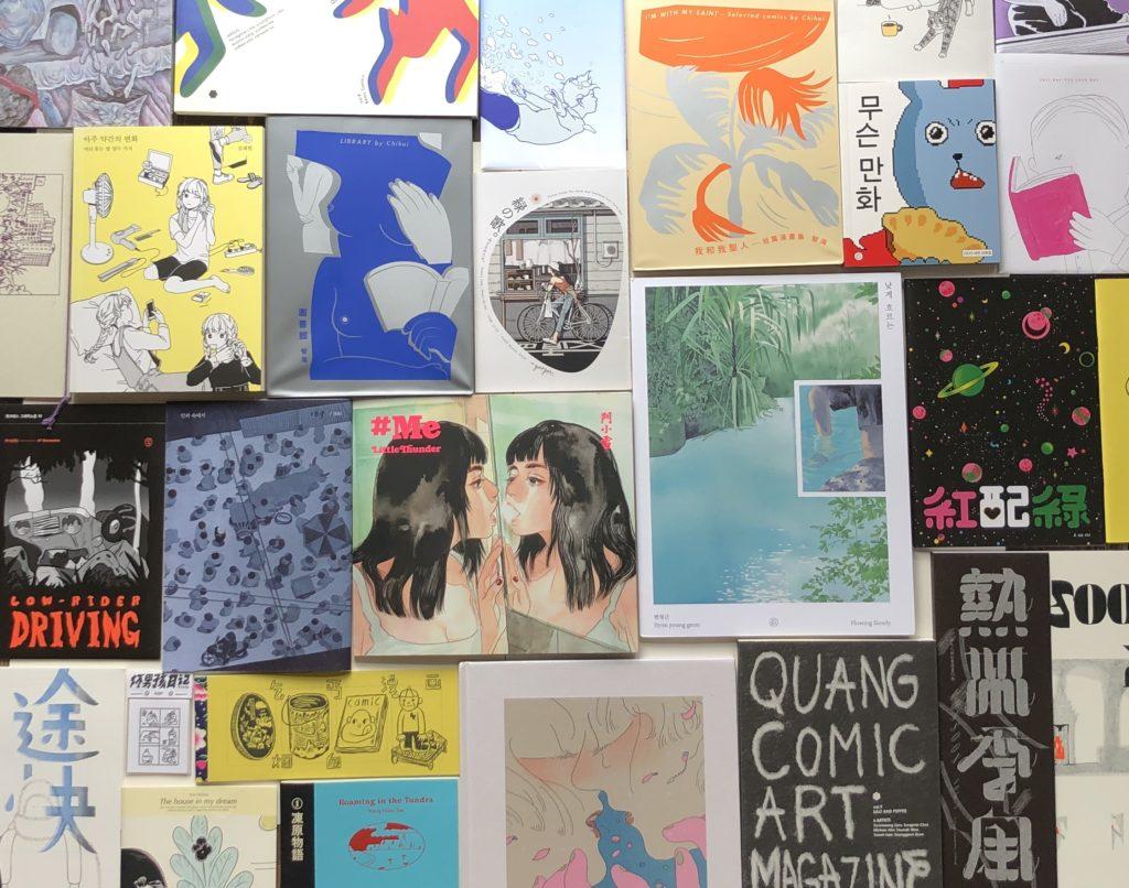 東アジアのインディ・コミック・アートブック展