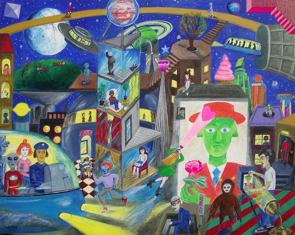 後藤友香個展『Mystery Planet』