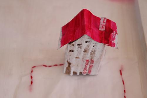 yoshiko abe 個展 「 Quatre chambres 」