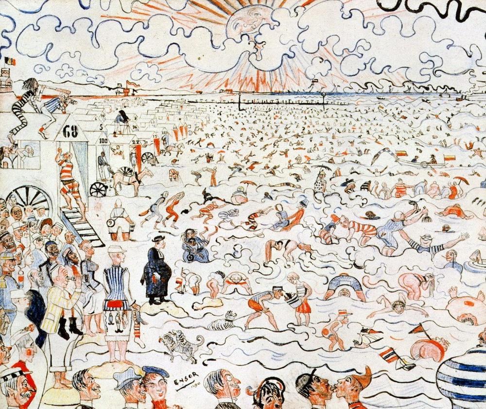 18_14_オステンドの海水浴