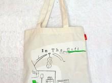 飯田淳さんのオリジナル・トートバッグ