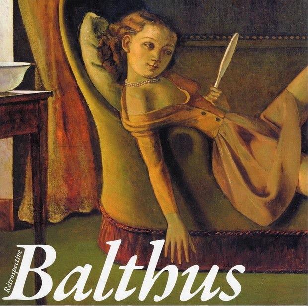 バルテュス展公式図録(2014) 東京都美術館と京都市美術館で2014年に開催された大回顧展の図録。表紙の作品は「美しい日々」(1944-46/部分)。