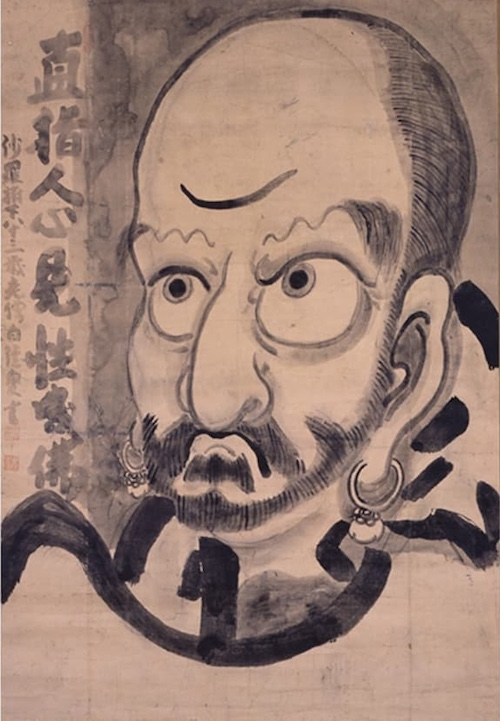 15-8白隠-達磨図
