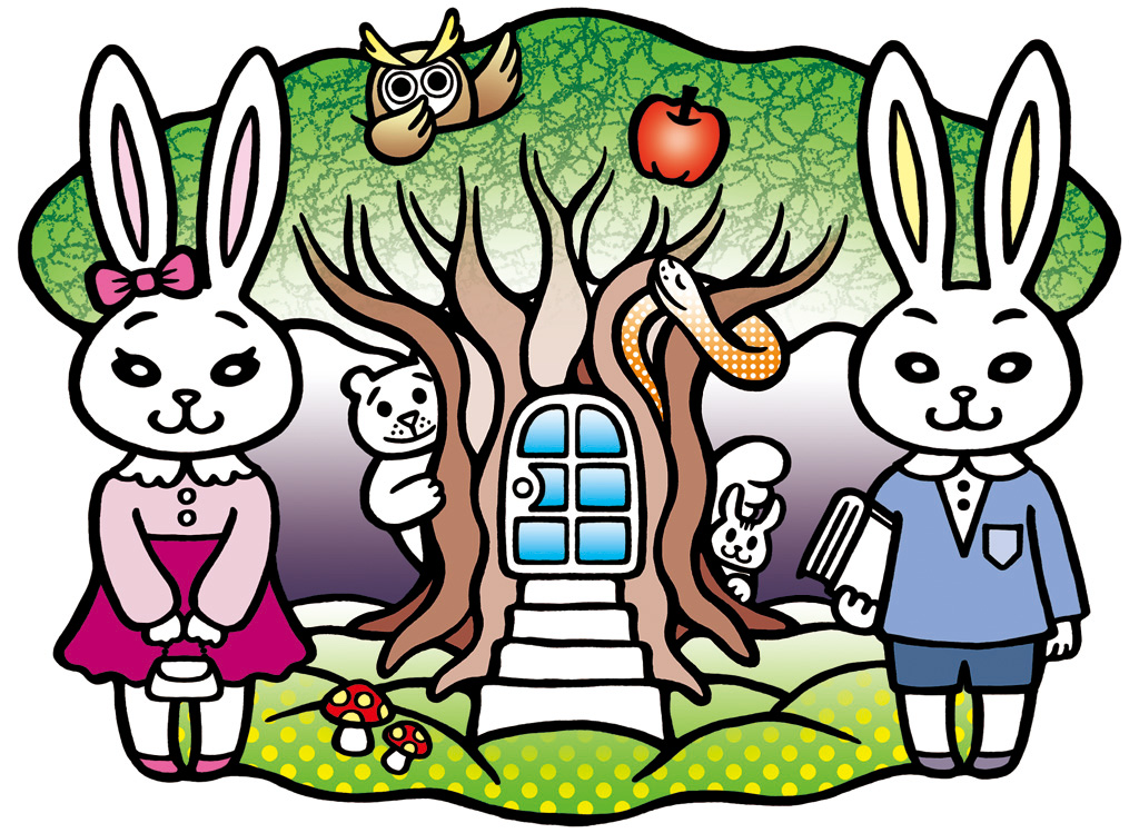 大島千明 rabbit ~Welcome to Wonder Wood~