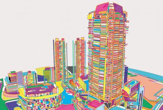 六本木ヒルズイラスト エンライトメント イラストレーションファイル
