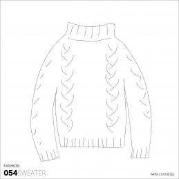 小巻 fashion054sweater